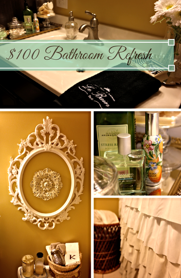 $100 Bathroom Refresh