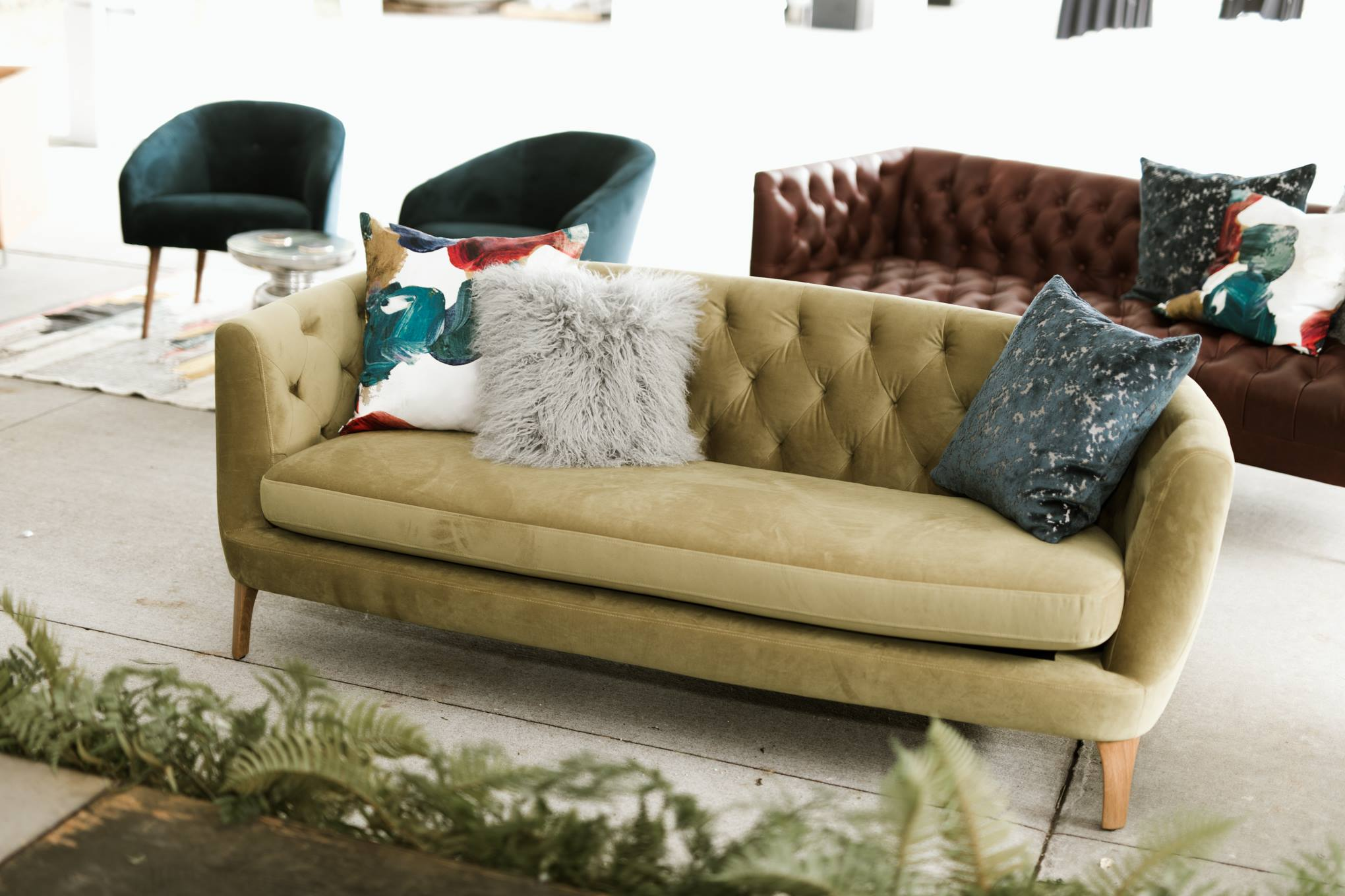 West Elm VIP Lounge