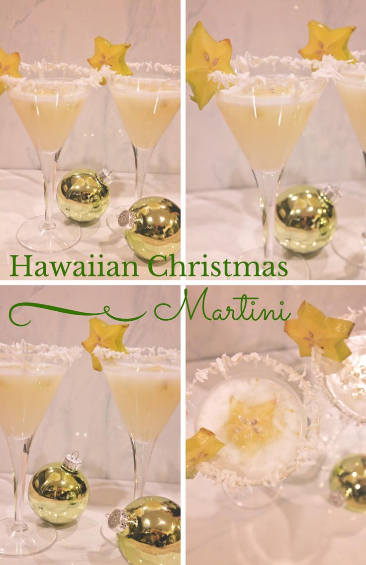 Hawaiian Christmas Martini: Lavish Lemon Link Up