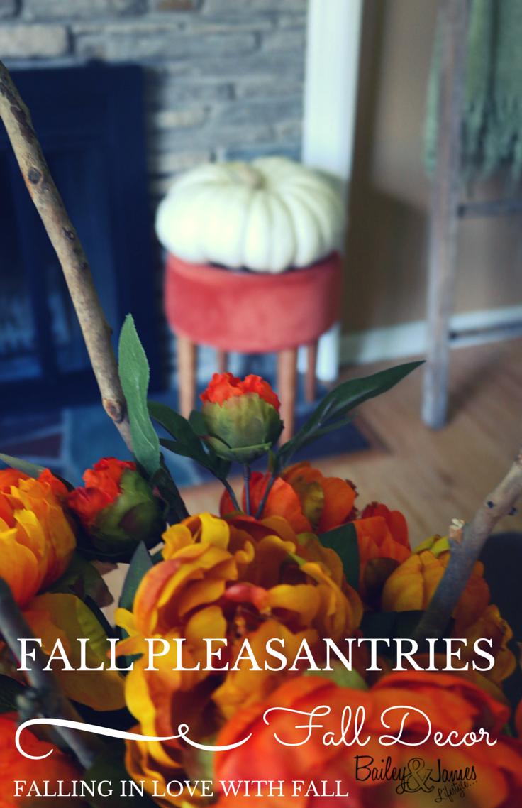Fall Pleasantries