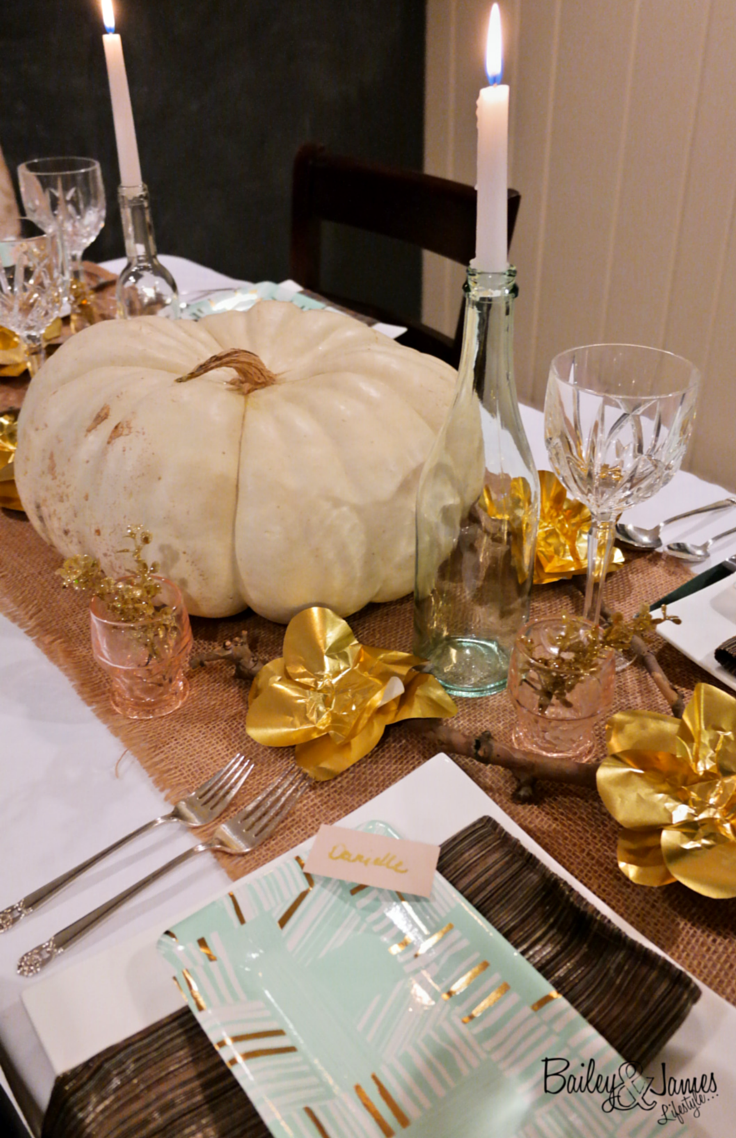 Thanksgiving Tablescape Bailey and James 13