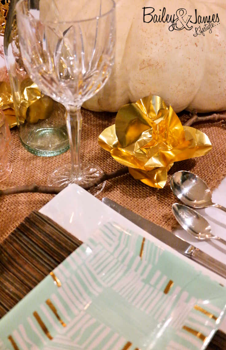 Thanksgiving Tablescape Bailey and James 3
