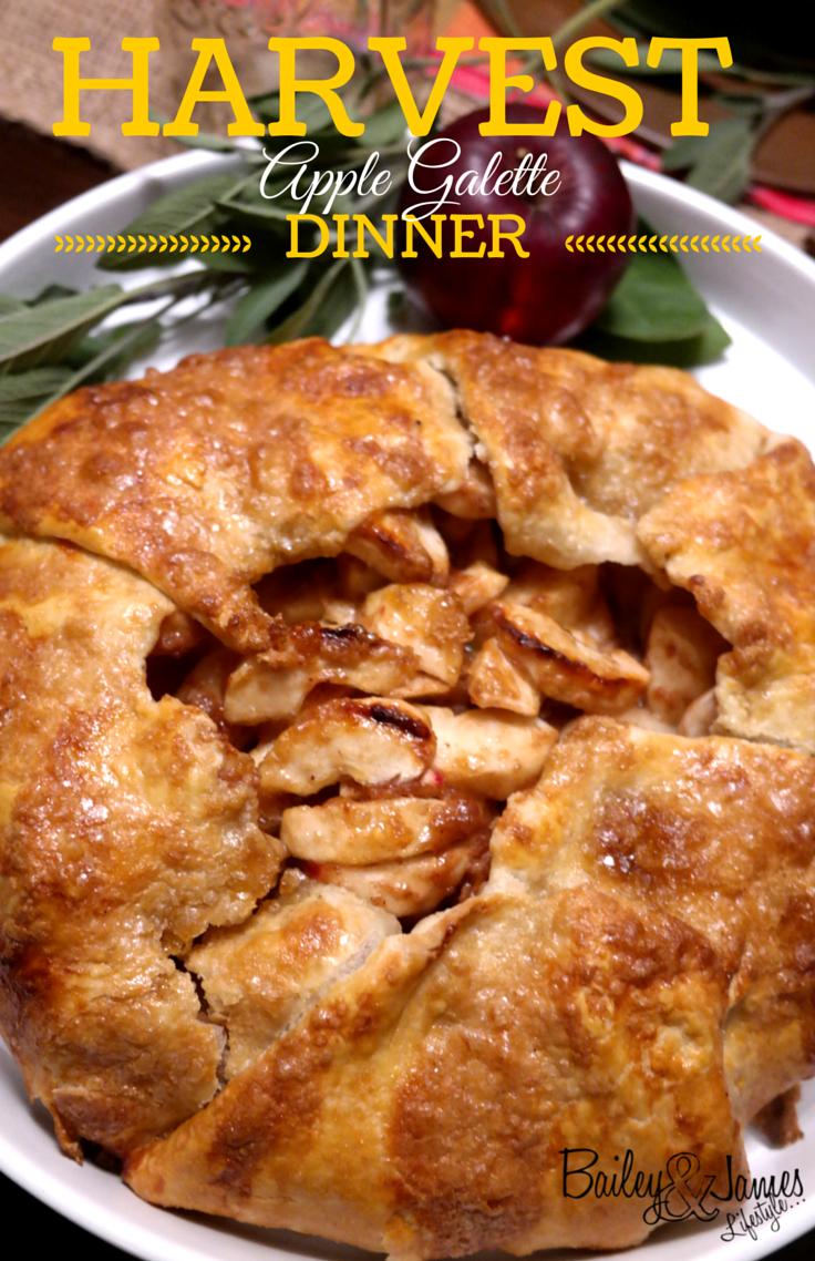 Harvest Dinner: Apple Galette