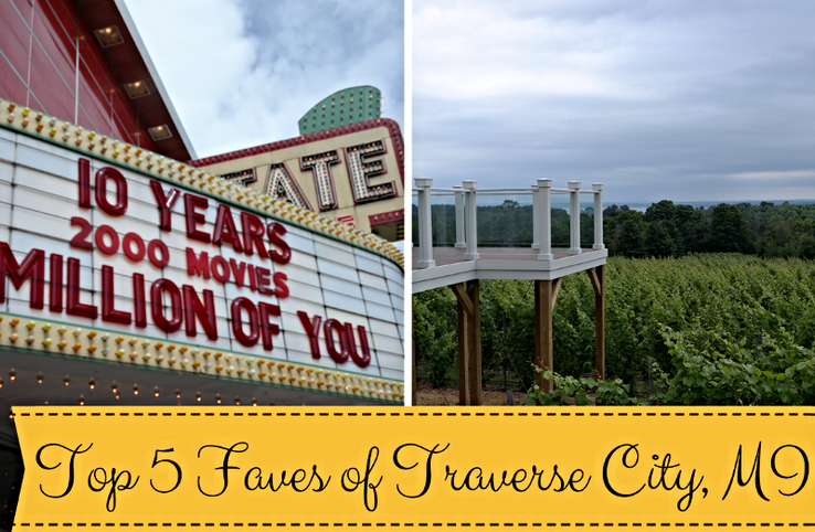 Top 5 Faves of Traverse City, MI