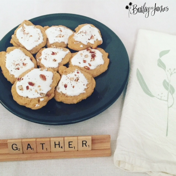 A Thanksgiving Treat: Sweet Potato Cookies