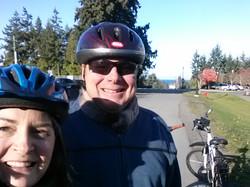 Biking Vancouver Island