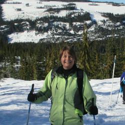 Snowshoeing at Mt. Washington