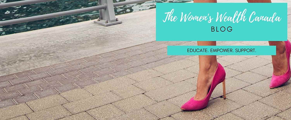 The Women's Wealth Canada Blog Subscription Form