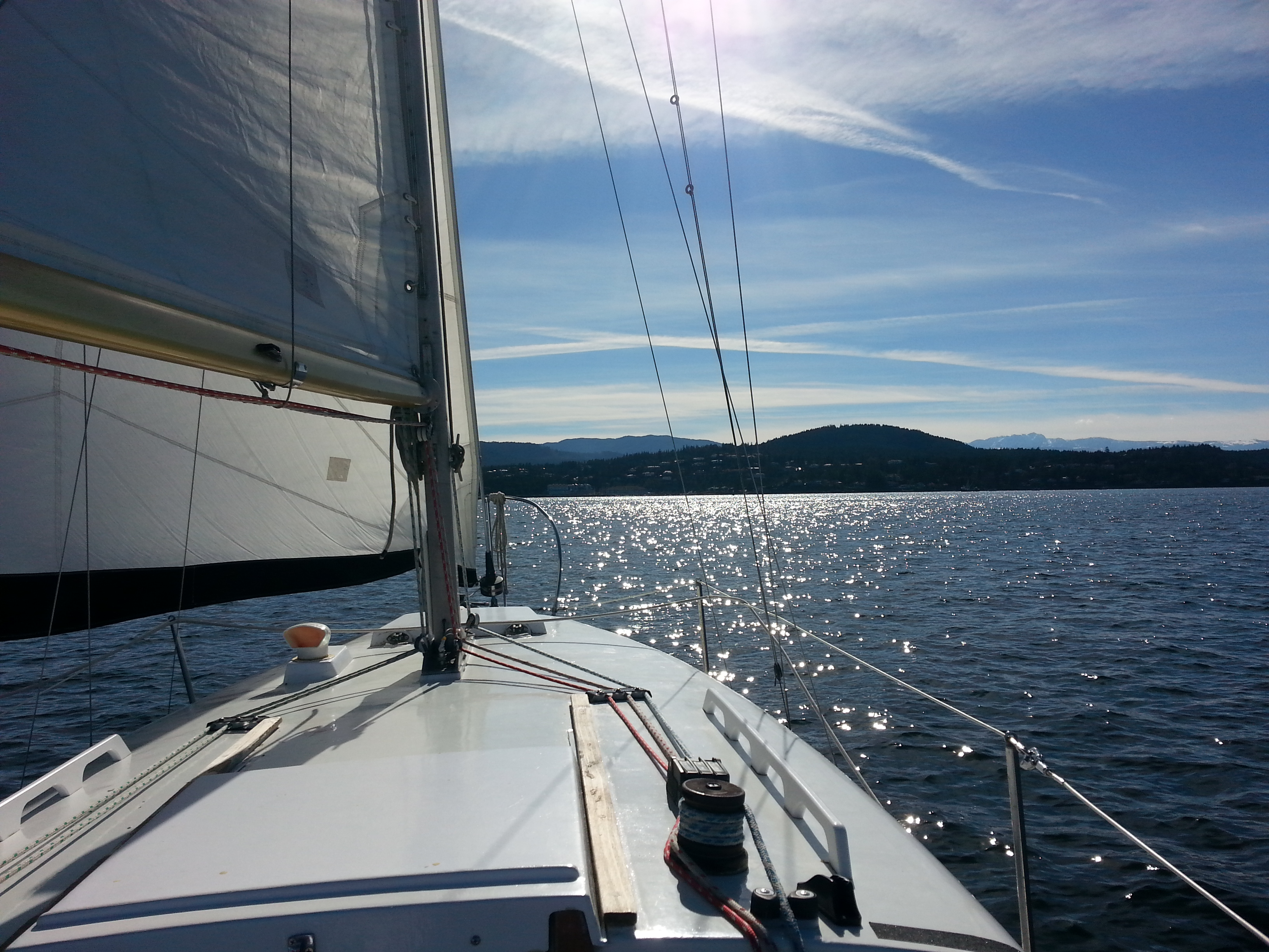 Sailing the Salish Sea