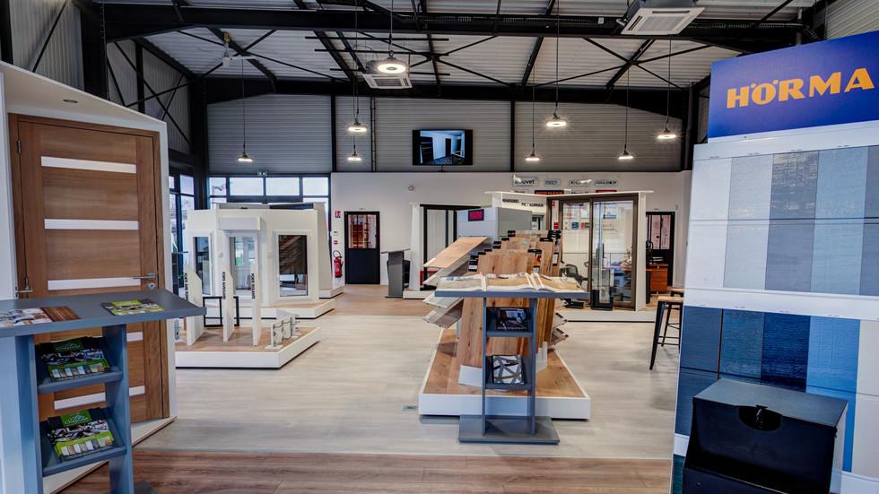 Visite virtuelle du show-room à Dinan