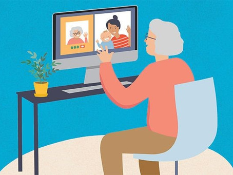 ENGAGING THE ELDERLY WHILE SOCIAL DISTANCING