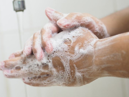 20 seconds hand washing