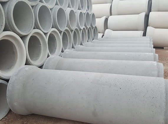 tubo de hormigón de campana fls tubos