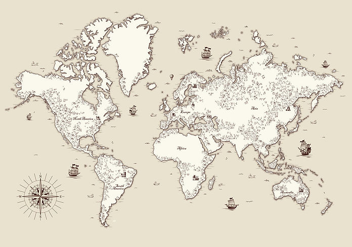 high-detailed-old-world-map-with-decorat