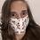 Thumbnail: Cherry Sparkle Adjustable Face Mask