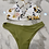 Thumbnail: Floral Print with Sparkle Detail and Green Bottoms