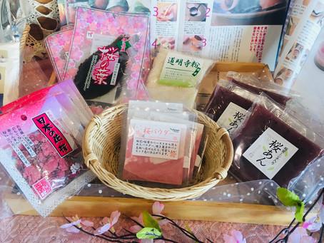 桜関連商品が、入荷しています♪