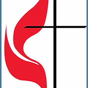 Cross and flame with border blue.jpg