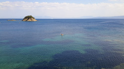 Canoe to Troulos island