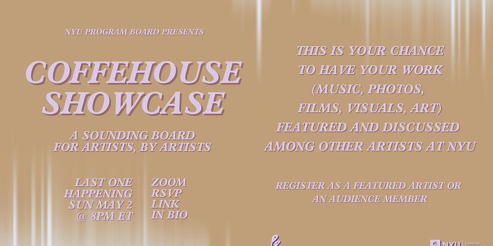 Coffeehouse Showcase