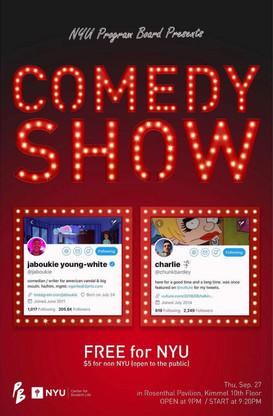 Fall Comedy Show 2018