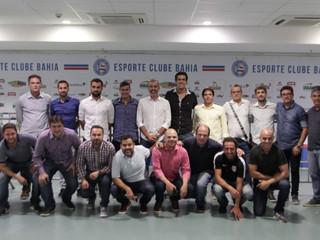 Tubarão participa de reunião do Movimento de Formação do Futebol de Base