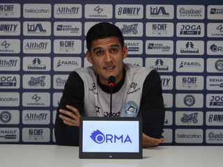 Campeão em 2017, Gabriel Coutinho disputa terceira Copa Santa Catarina pelo Tubarão