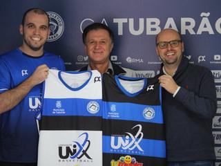 Tubarão anuncia parceria com o Univinte Basketball