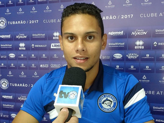 Peixe não mediu esforços para ter Gerson, autor do segundo gol, em campo contra o Brusque