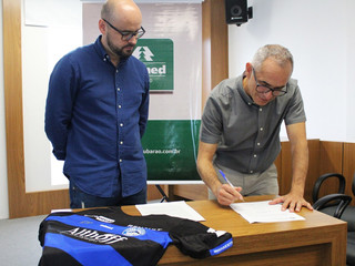 Atlético Tubarão e Unimed fecham parceria