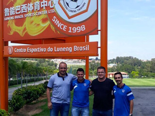 Clube faz visita ao Desportivo Brasil