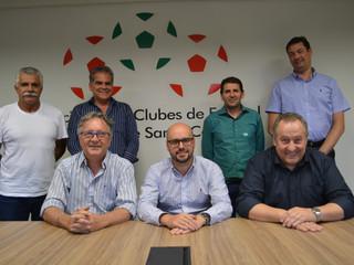 Luiz Henrique Martins Ribeiro é o novo presidente da Associação de Clubes de SC