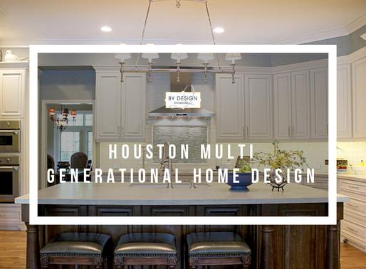 Houston Multi-Generational Home Design