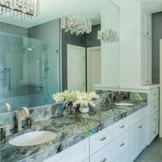 Glam Master Bathroom