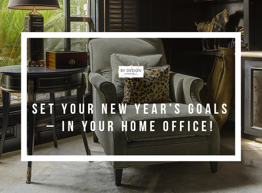 Set Your New Year's Goals – In Your Home Office!