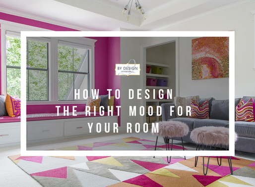 How to Design The Right Mood For Your Room
