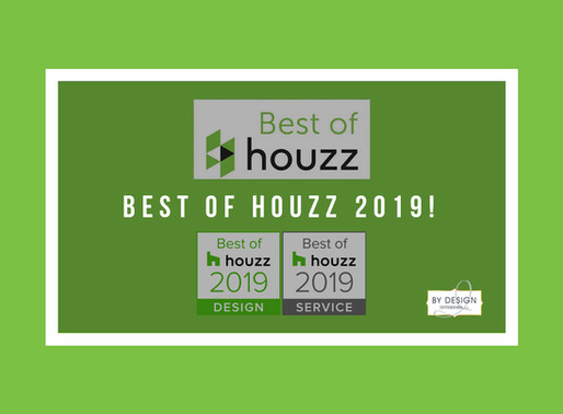 "Houston Interior Design Firm awarded ""Best of HOUZZ"" for both Design and Service in 2019"