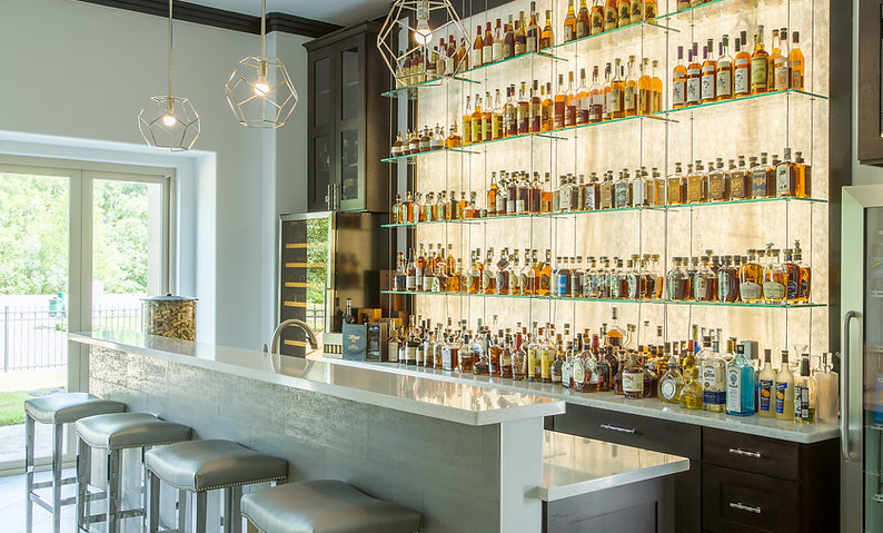 Chic Home Bar Remodel