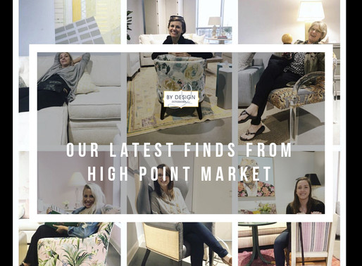 Houston Interior Designers share their latest finds from High Point Market 2019