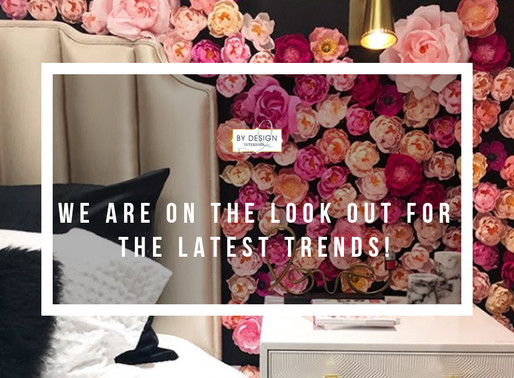 Houston Interior Designers always on the lookout for the latest trends!