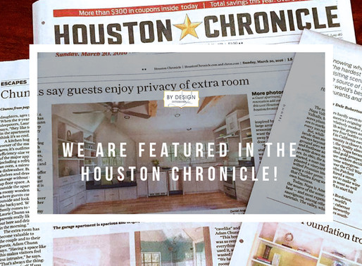 By Design Interiors featured in the Houston Chronicle!
