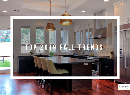 Interior Design's Top 2019 Fall Trends