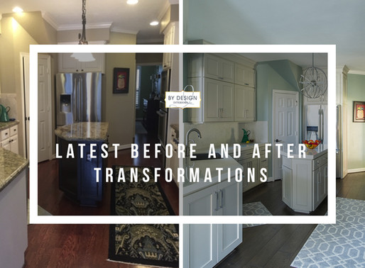 Houston Interior design firm's latest before and after transformations
