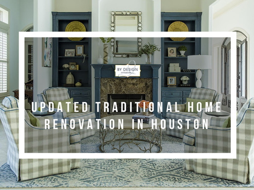 Updated Traditional Home Renovation in Houston