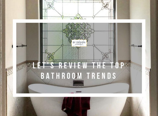 Let's review the top bathroom trends of 2019!