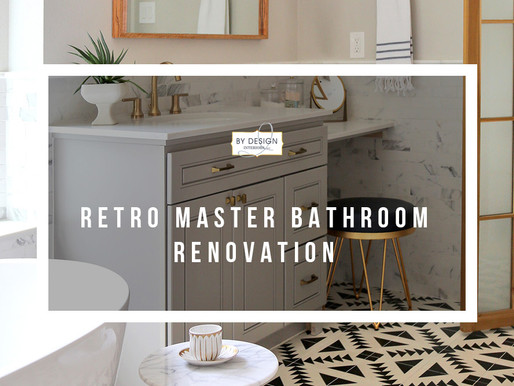 Retro Master Bathroom Renovation in Houston