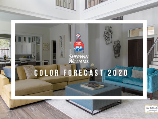 Hello Color! Sherwin Williams Color Forecast 2020 Recap