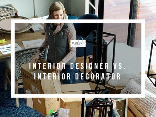 Interior Designer Vs. Interior Decorator, what is the difference?