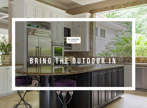 Bring the outdoor in