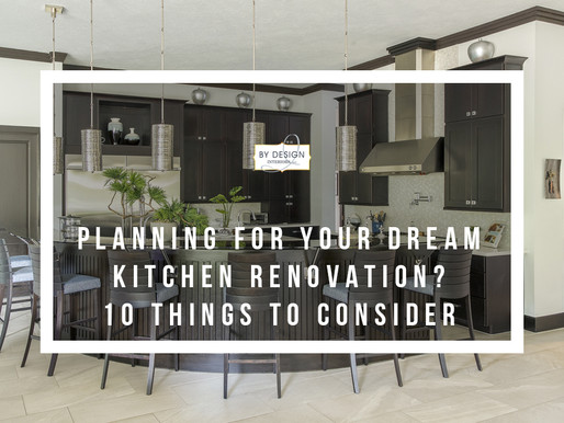 10 things to consider when planning for your dream kitchen renovation project in Houston